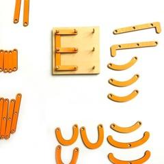 Конструктор Буквы и цифры Сенсорика