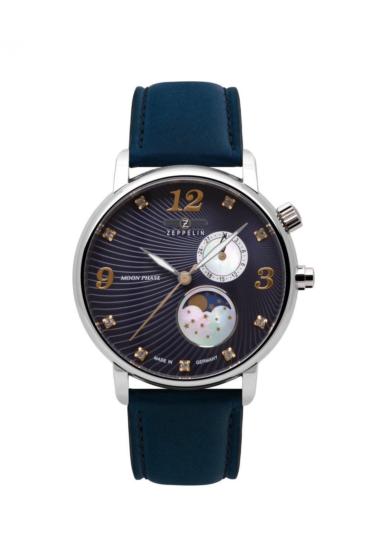 Женские часы Zeppelin Luna Mondphase Steelcase 76373