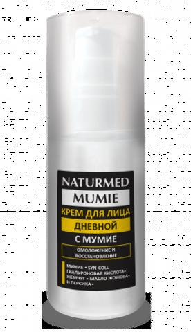 Крем для лица дневной с мумиё NATURMED MUMIE 50 мл НИИ Натуротерапии