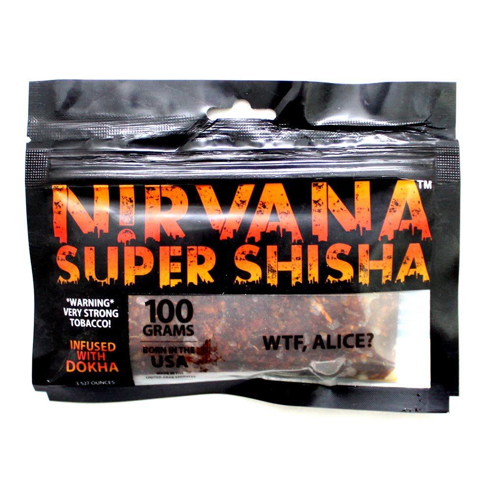 Табак для кальяна Nirvana - WTF Alice 100 гр.