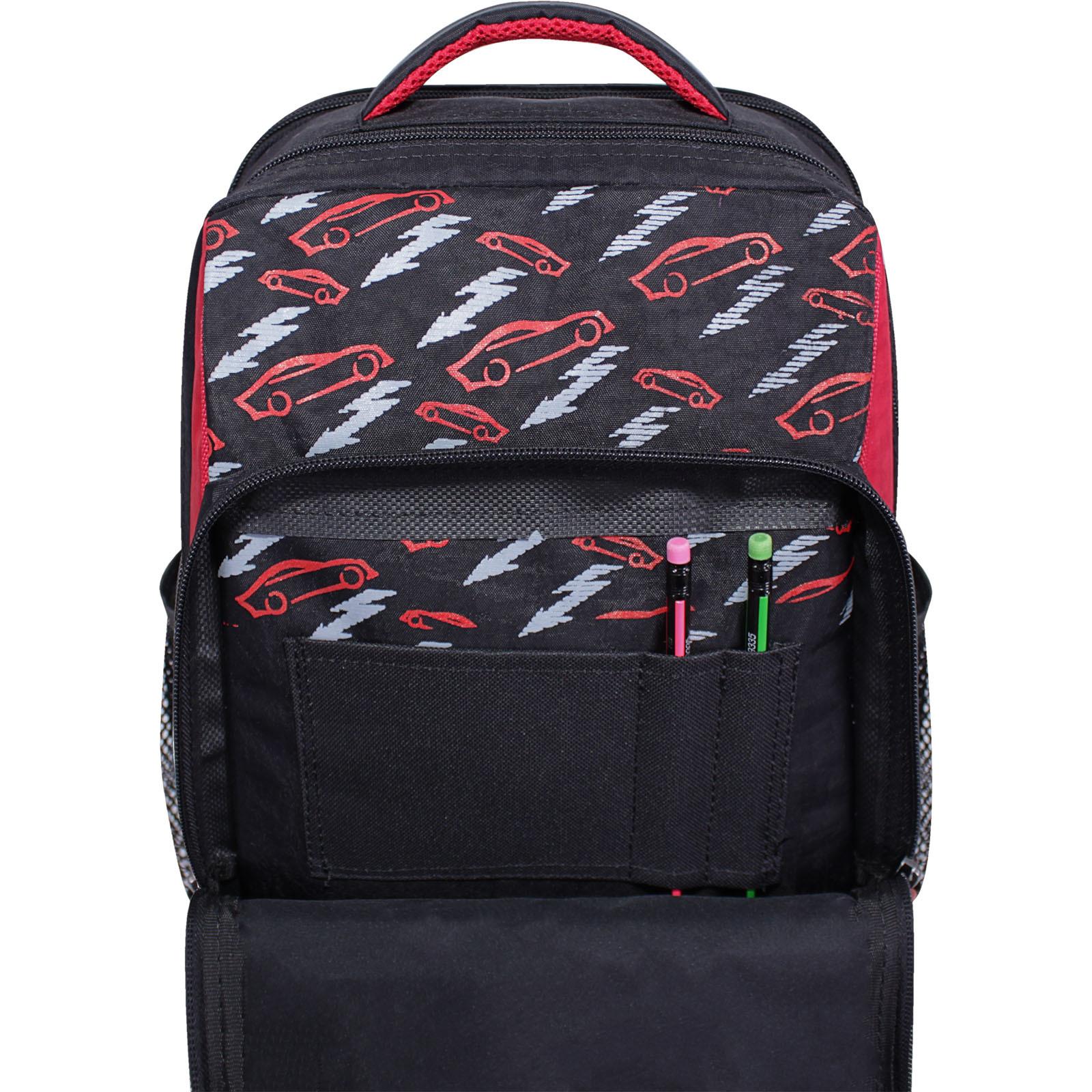 Рюкзак школьный Bagland Школьник 8 л. черный 672 (0012870)