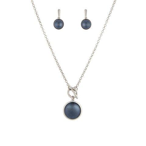 Комплект Pearl Blue Aventurine S1560.23 BL/S