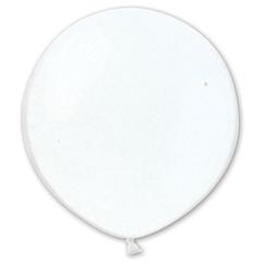 Белый шар 60/90 см на атласной ленте