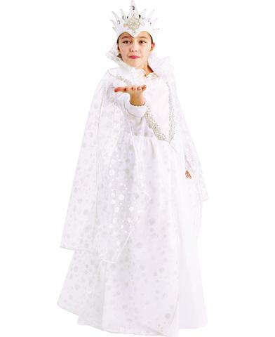 Карнавальный костюм детский Снежная королева