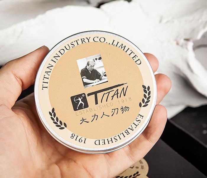 RAZ478 Натуральное мыло для бритья «Titan» (200 гр) фото 04