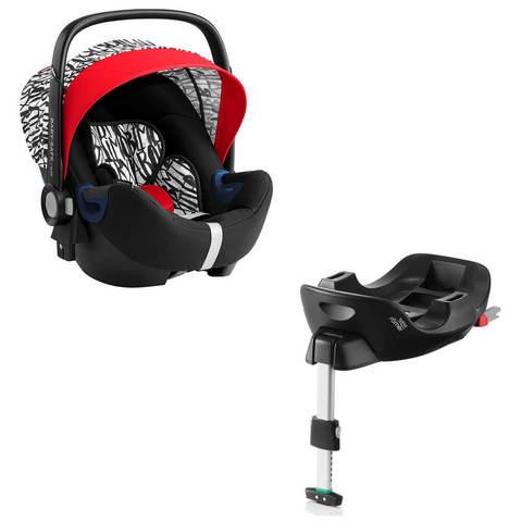 Автокресло Britax Roemer Baby-Safe2 i-Size Letter Design + Base Flex Isofix