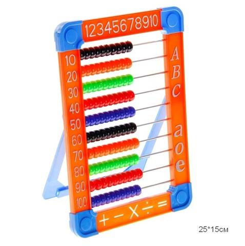Счеты, 4 цвета, HY8022
