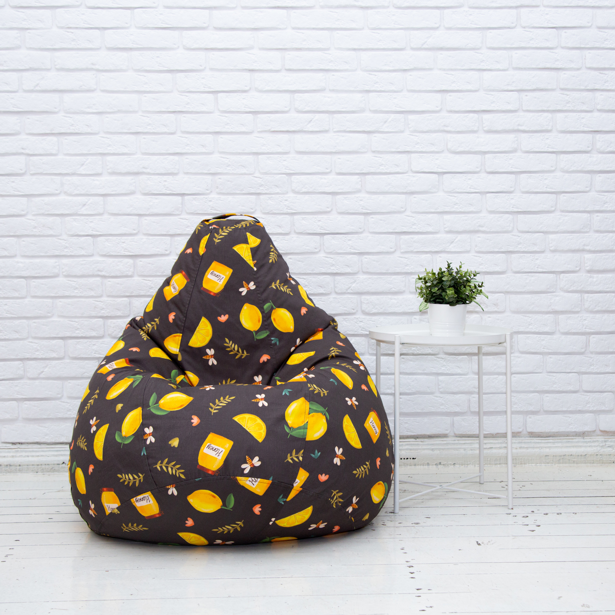 Груша М дизайнерская от Кочетковых  (лимоны)