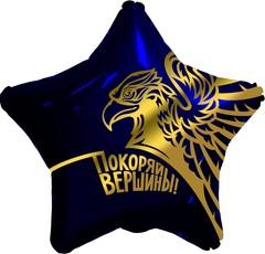 Аг 19''/48см, Звезда, Золотой орел, Покоряй вершины!, Темно-синий.
