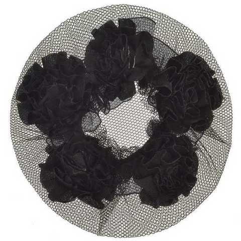 Сетка для волос W-460 розы
