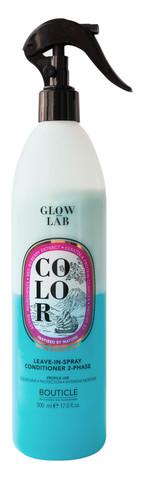 Двухфазный колор спрей-кондиционер для окрашенных волос - Bouticle Glow Lab Color Leave-In-Spray Conditioner 500 мл