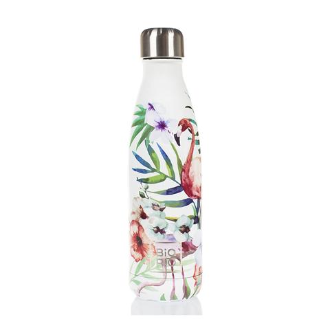 Бутылка-термос металлическая Фламинго 0,5 л