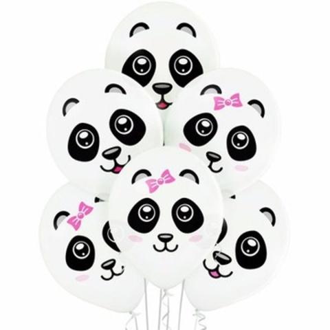 Воздушные шары Панда