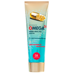 Крем-масло для рук, 80г  OMEGA 369
