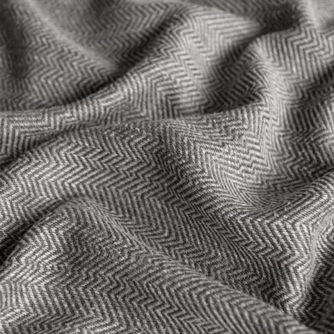 Ткань под лен Белла темно-серый
