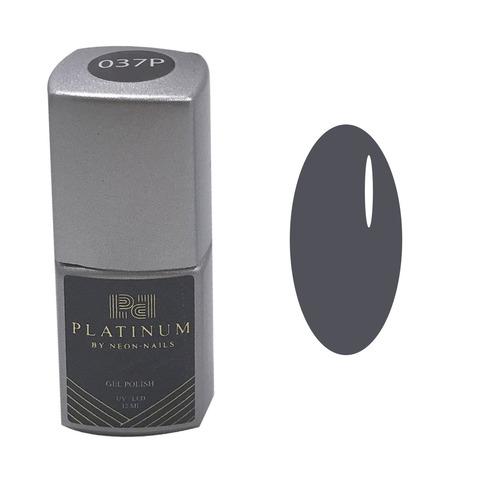 Серый гель-лак  фото Platinum