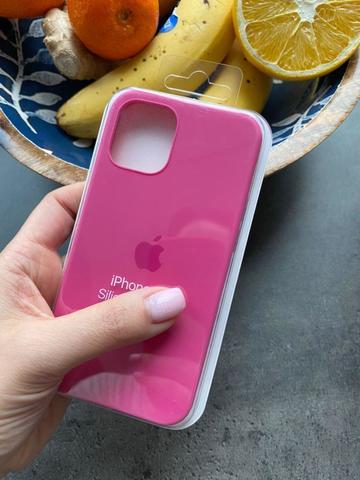 Чехол iPhone 12 (6,1) Silicone Case Full /dragon fruit/
