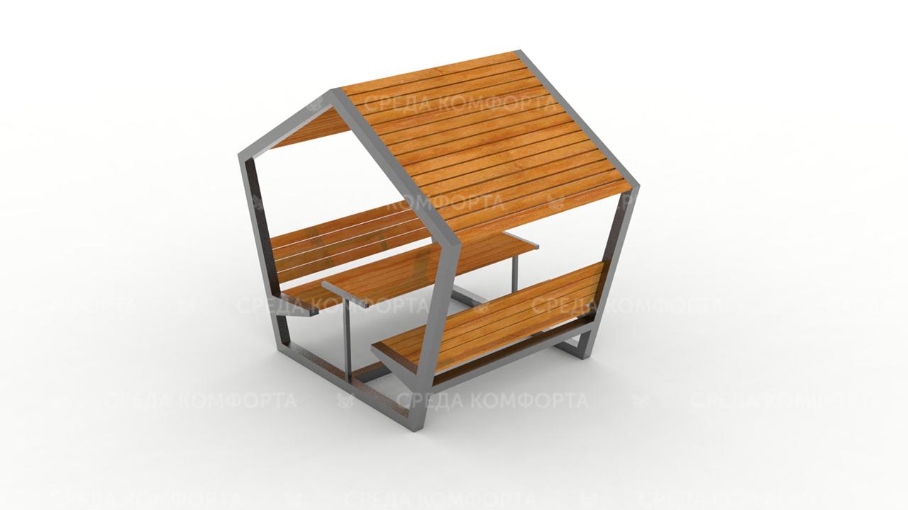 Скамейка с навесом SCAM0098