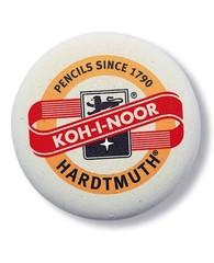 Ластик мягкий круглый KOH-I-NOOR 6242, D=70, для карандашей 3В-3Н
