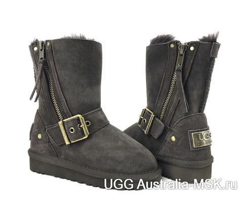 UGG Kids Classic Short Blaise Grey