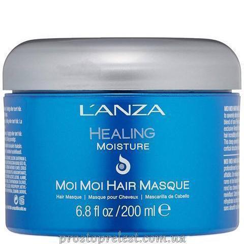 L'anza Healing Moisture Moi Moi Hair Masque - Відновлююча маска для волосся