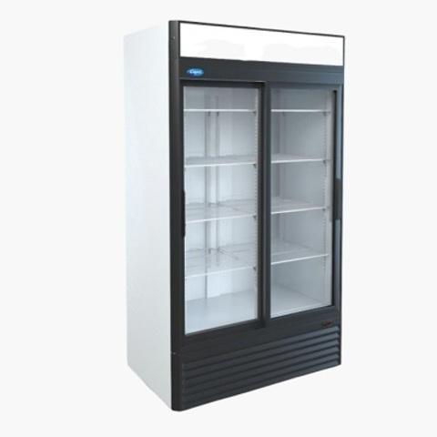 Холодильный шкаф МХМ Капри 1,12СК  (1195х710х2030),  (C°)0…+7  Купе