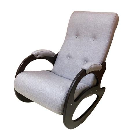 Кресло качалка Милан серая (Letolux)