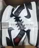 Air Jordan 1 Mid 'Black/White' (Фото в живую)