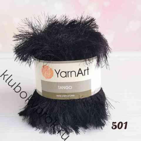 YARNART TANGO 501, Черный