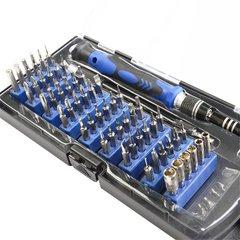 Набор отверток для точных работ со сменными битами и гибким удлинителем KniknakTech 58 в 1