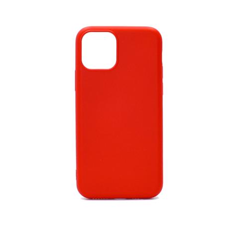 Чехол для iPhone 11 ProMax Софт тач мягкий эффект | микрофибра красный #2