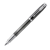 Parker IM SE - Metallic Pursuit FP, перьевая ручка, F