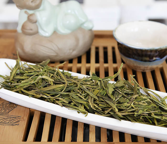 TEA-CH104 Китайский зеленый чай «Колодец Дракона» (Лун Цзин, 10 гр) фото 04