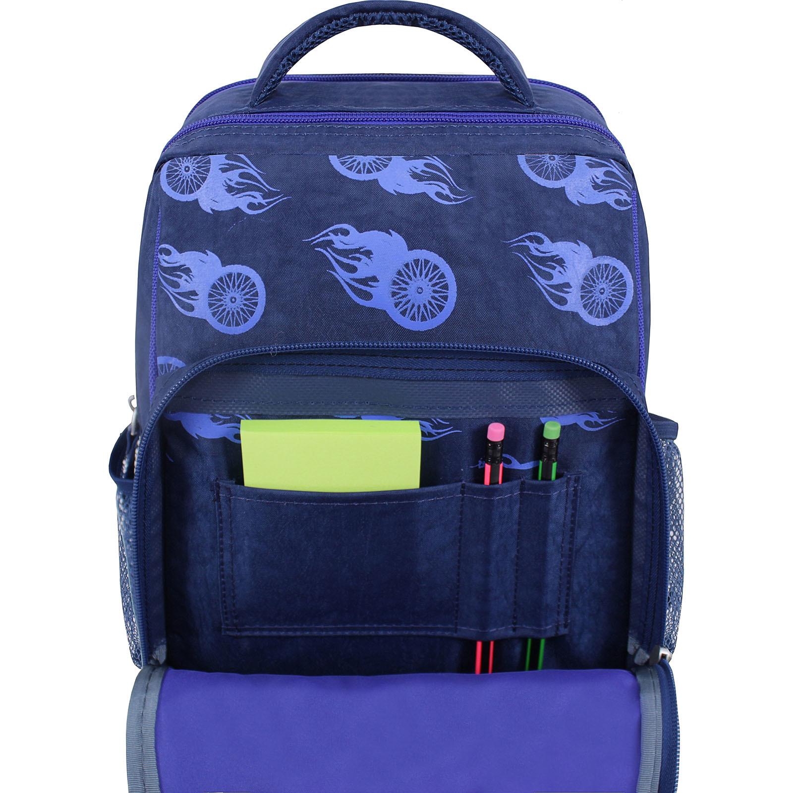 Рюкзак школьный Bagland Школьник 8 л. синий 507 (0012870) фото 4