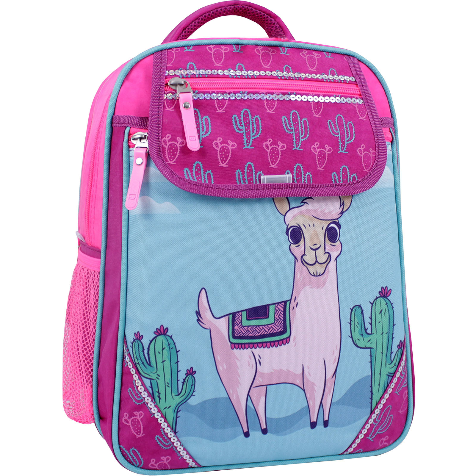 Рюкзак школьный Bagland Отличник 20 л. Малиновый 617 (0058070) фото 1