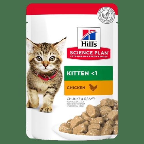 Hill's Пауч для котят Hill`s Science Plan Kitten, с курицей sp-feline-science-plan-kitten-with-chicken-pouch-productShot_500.png