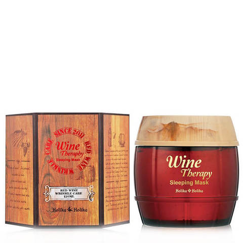 HOLIKA HOLIKA  Wine Therapy Sleeping Mask Red Wine Ночная маска