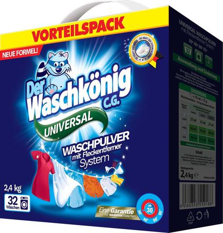 Стиральный порошок Waschkönig Universal 2.4кг