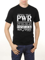 461493-11 футболка мужская, черная