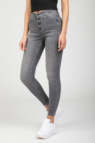 Женские джинсы HIGH RISE SUPER SKINNY ANKLE Calvin Klein