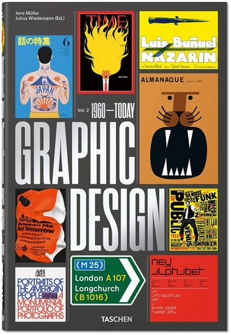 TASCHEN: The History of Graphic Design. Vol. 2, 1960-Today