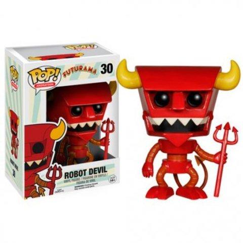 Фигурка Funko Pop Футурама-Рободьявол (Futurama-Robot Devil)