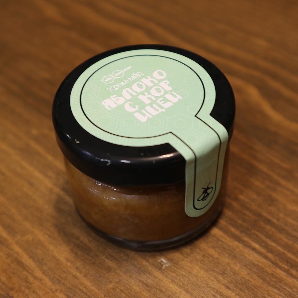 Купить крем-мед яблоко с корицей в Перми