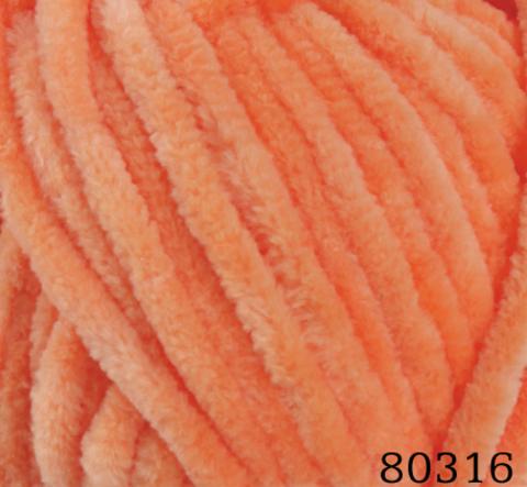 Пряжа Himalaya Dolphin Baby арт. 80316 оранжевый