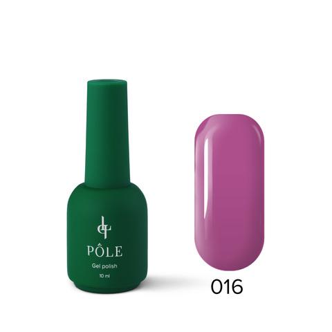 Гель-лак POLE Роскошь №016 - Ежевичный йогурт (10 мл.)
