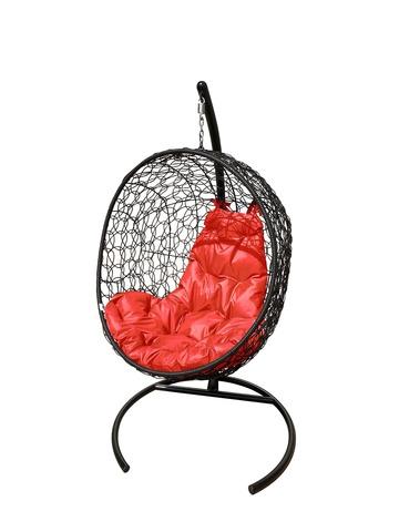 Кресло подвесное Porto black/red