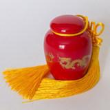 Фарфоровая баночка  для хранения чая вид-4