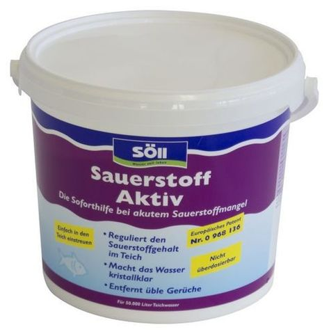 Sauerstoff-Aktiv 5,0 кг - Средство для обогащения воды кислородом