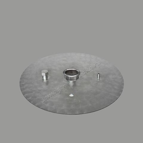 """Крышка 3 мм для куба 37 литров (серия D360), Кламп 2,0"""", DN50"""
