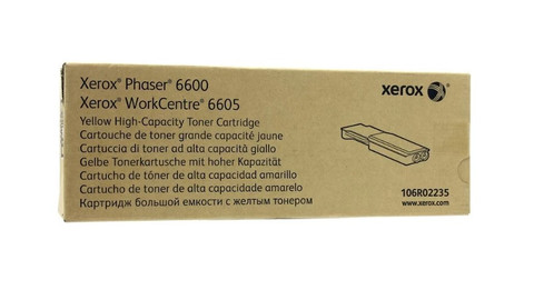 Картридж Xerox 106R02235 желтый